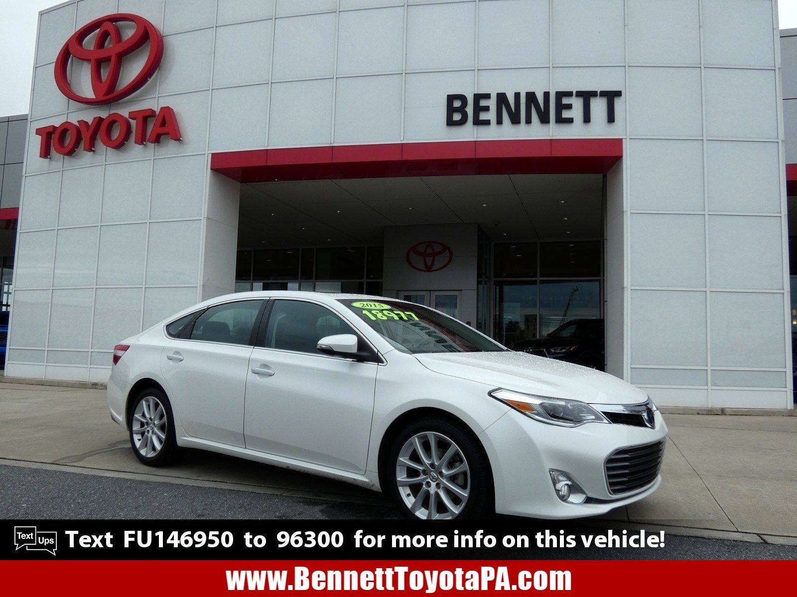 Pre-Owned 2015 Toyota Avalon Limited