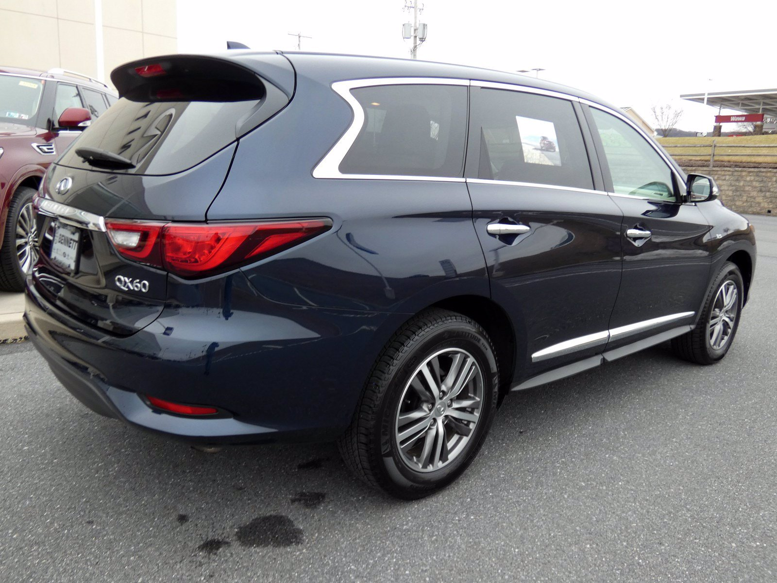 Certified Pre-Owned 2020 INFINITI QX60 PURE