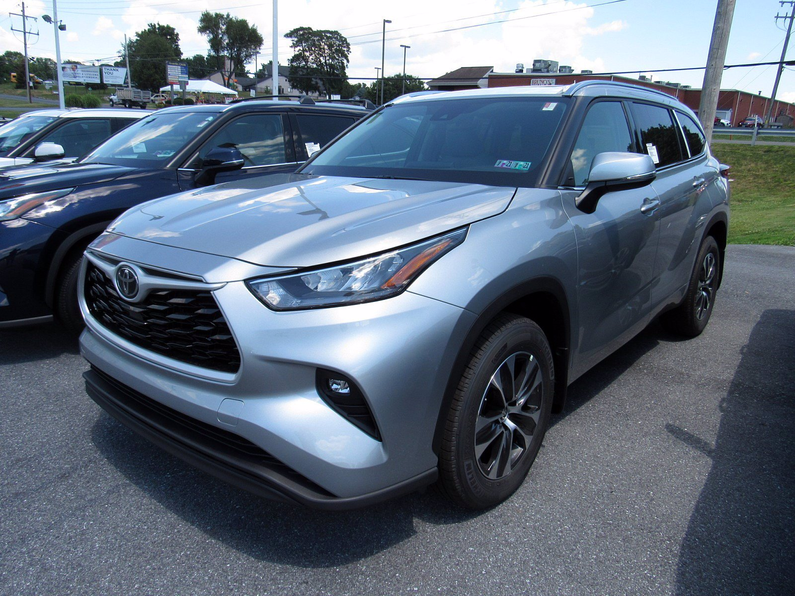 New 2020 Toyota Highlander Xle Sport Utility In 2295 Manual Guide