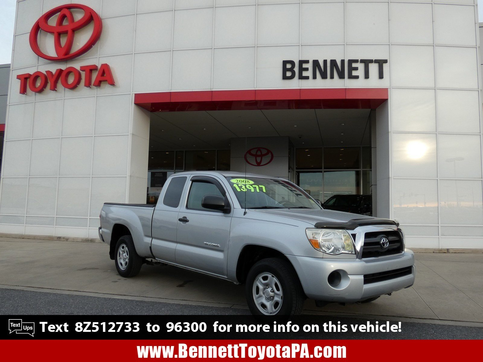 Pre-Owned 2008 Toyota Tacoma ACC CAB 2WD AT