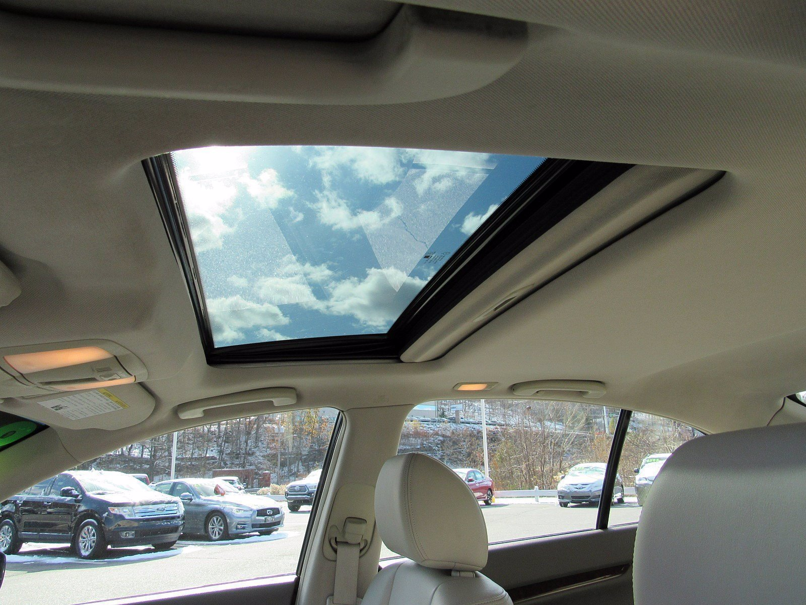 Windshield Sun Shade G37 SEDAN//CONVERTIBLE Best Custom Fitting Sun Shade IN-25