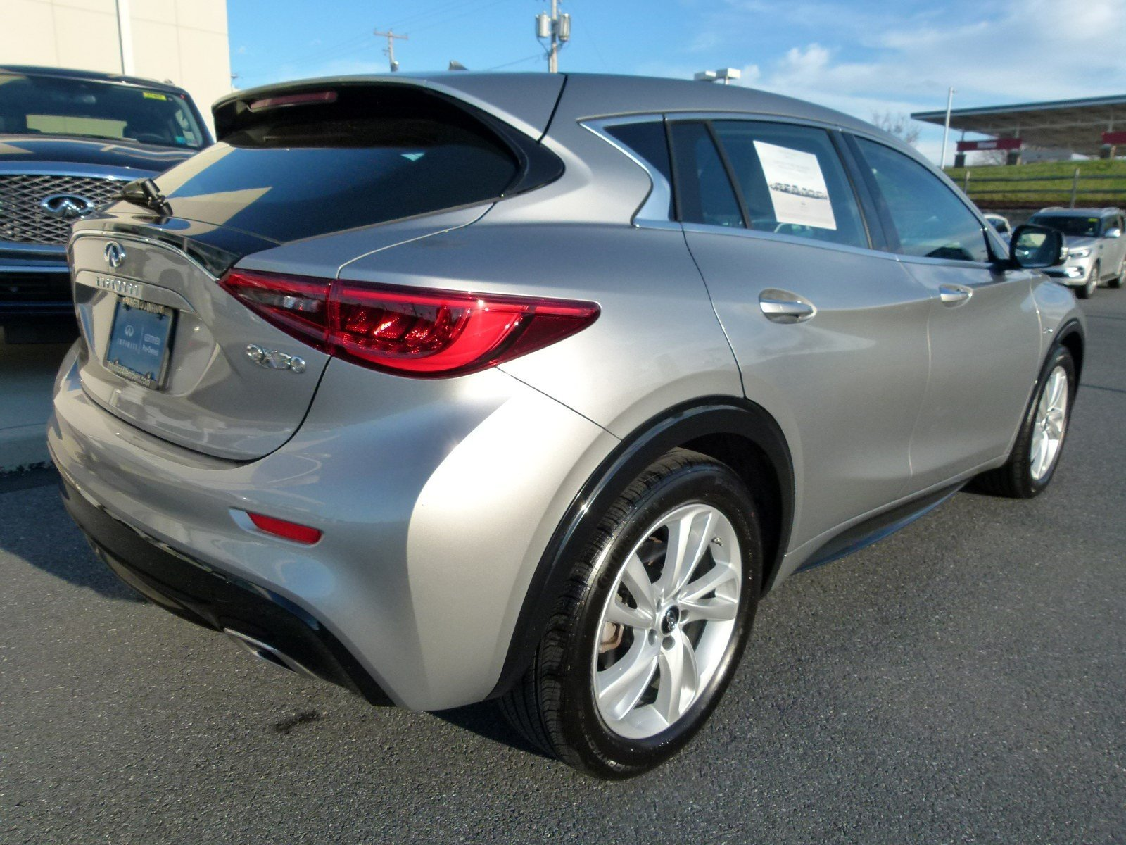 Certified Pre-Owned 2018 INFINITI QX30 Base