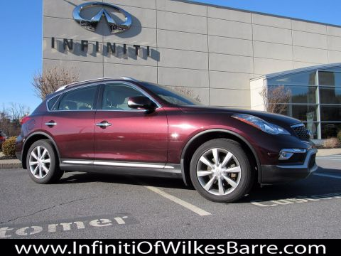 Pre-Owned 2017 INFINITI QX50 4DR AWD