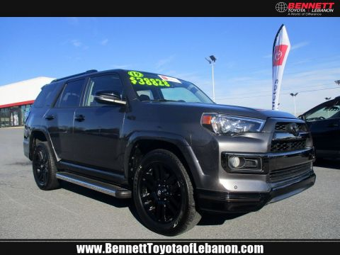 Certified Pre-Owned 2019 Toyota 4Runner Limited Nightshade