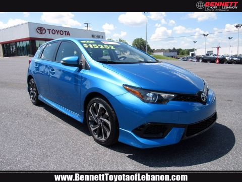 Certified Pre-Owned 2017 Toyota Corolla iM 5DR HB CVT